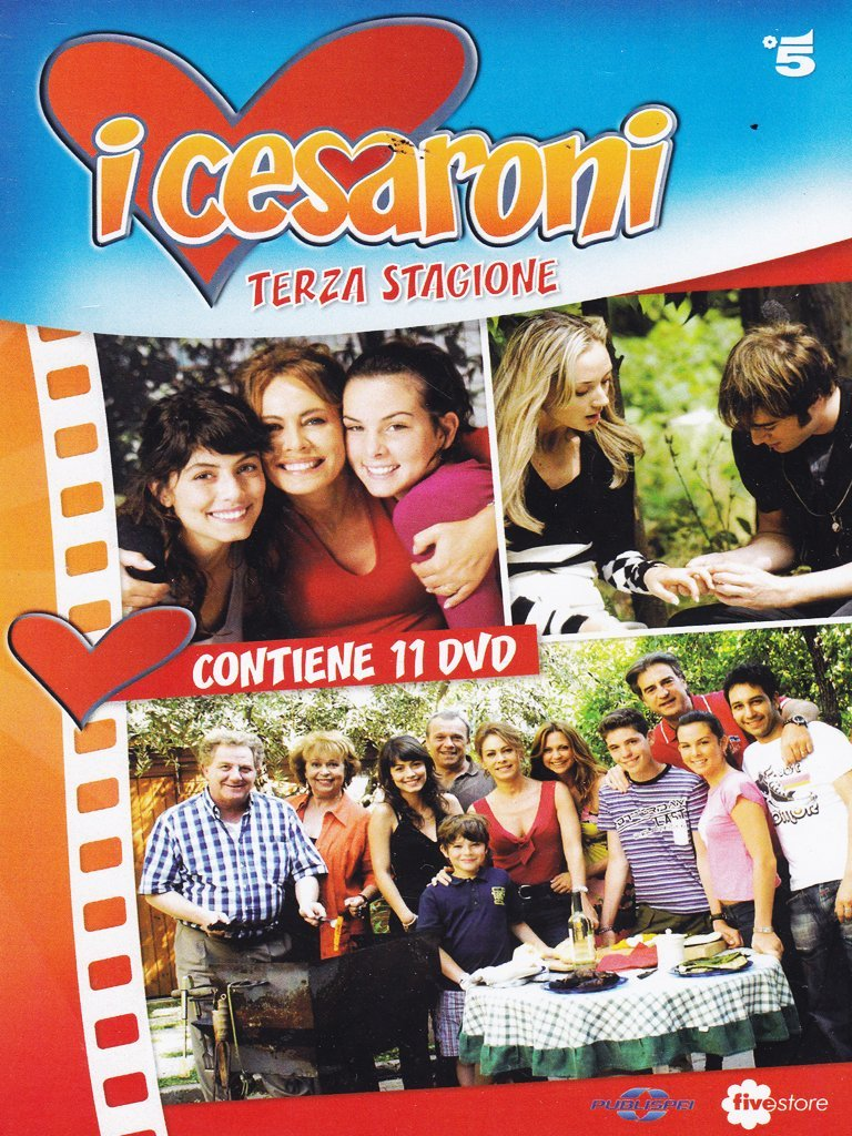 COF.I CESARONI - STAG. 3 (9 DVD) (DVD)