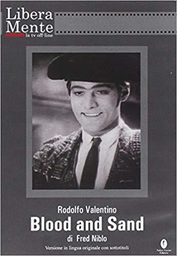 BLOOD AND SAND / SANGUE E ARENA - RODOLFO VALENTINO (DVD + BOOKL