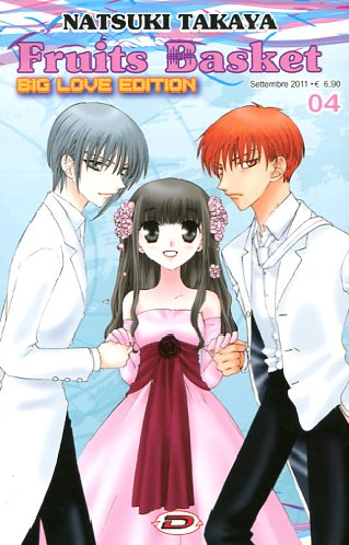 FRUITS BASKET #04 - BIG LOVE EDITION