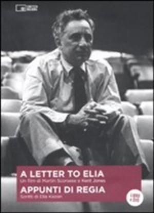 APPUNTI DI REGIA A LETTER TO ELIA (DVD+LIBRO) (ESENTE IVA) (DVD)