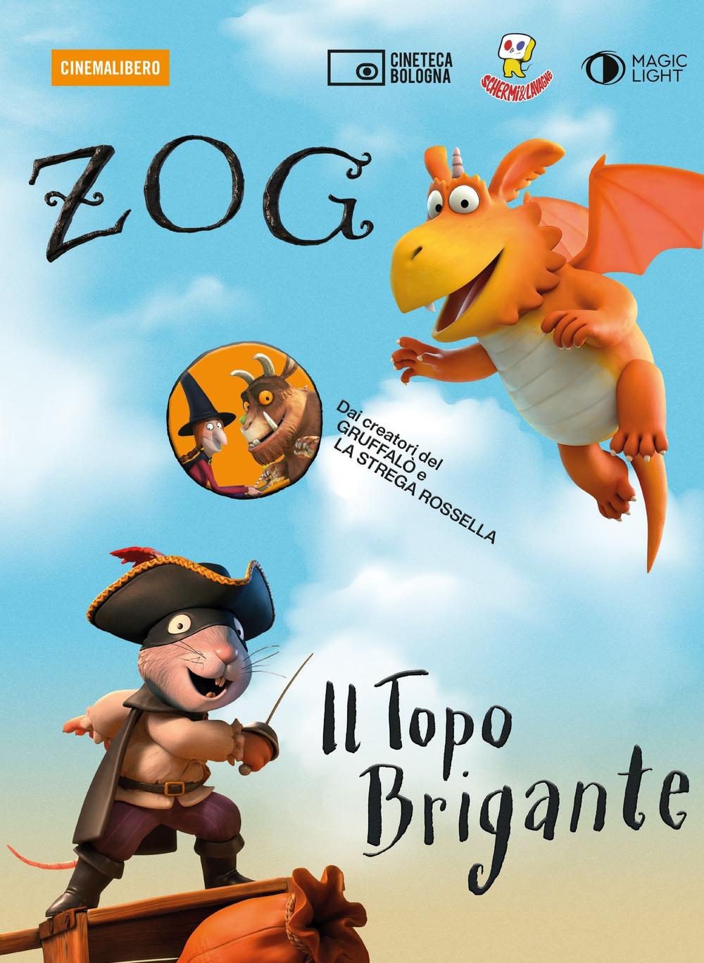 ZOG E IL TOPO BRIGANTE. DVD. CON LIBRO (DVD)
