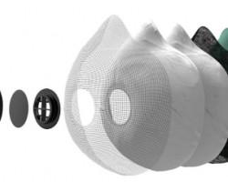 Filtres pour masque anti-pollution R-PUR