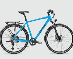 TdS - Speed Trekking - Diamant 53cm - lichtblau glanz XT 12-Gang