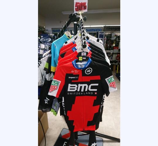 Maillot & cuissard Team BMC, Team ASTANA, Team BORA, DIMENSION DATA