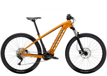 Trek Powerfly 4 625W S 27.5 Wheel Factory Orangelithium Grey