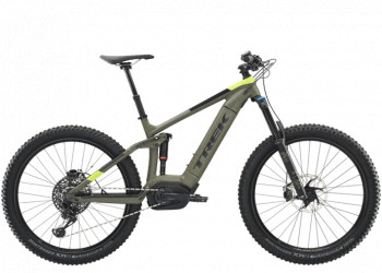 Trek Powerfly Lt 9 Plus 21.5 Matte Olive Grey