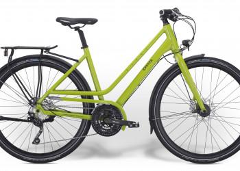Citybike, Cresta, Sfera, F668g kiwi-grün glanz, S 46cm, Rahmennummer: