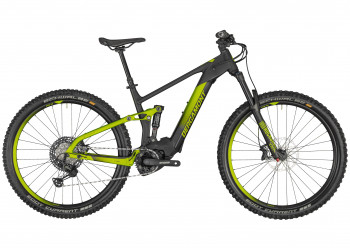 E-Mountainbike, Bergamont, E-Trailster Expert, black/lime green metall