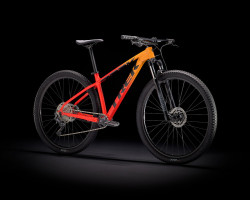 Trek Marlin 7 S 27.5 Wheel Marigold To Radioactive Red Fade