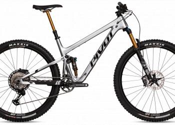 Pivot Trail 429 Carbon, Metallic Silver, Pro XT/XTR Kit, Gr. M