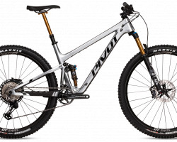 Pivot Trail 429 Carbon, Metallic Silver, Pro XT/XTR Kit, Gr. M