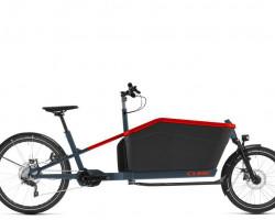 CUBE > Cargo Hybrid Sport Dual blue´n´red