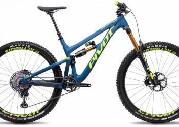 Pivot Firebird 29 steel blue Pro XT Gr.M Testbike