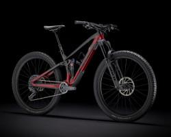 Trek > Fuel EX 9.8 GX, Raw Carbon/Rage Red