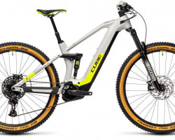 CUBE > Stereo Hybrid 140 HPC Race 625 grey´n´yellow