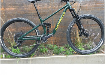 Norco > Sight A9.1, Gr.M, british racing green/yellow