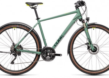 CUBE Nature EXC Allroad green´n´bluegreen