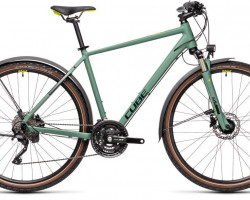 CUBE > Nature EXC Allroad green´n´bluegreen