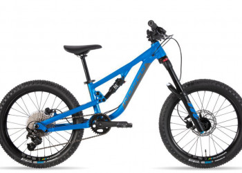 """Norco > Norco Fluid FS 2 20"""" Kindervelo 2020, Electric Blue/Charcoal"""