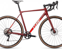 CUBE > Cross Race SL red´n´red