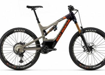 E-MTB, Rocky Mountain, Altitude Powerplay C90, Rally Edition, beige / purple, Medium, 2 Jahre GarantieBMTBT20127087