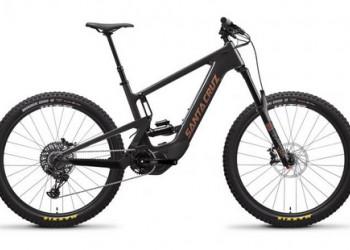 E-Mountainbike, Santa Cruz, Heckler CC, S-Kit, blackout, Medium
