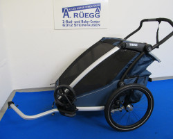 Chariot Cross2  2021  majolica blue