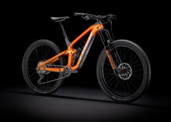 Trek Slash 9.8 Xt L 29 Wheel Factory Orangecarbon Smoke