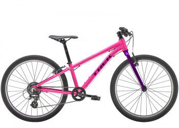 """Trek Wahoo 24"""" Wheel Flamingo Pinkpurple Lotus"""