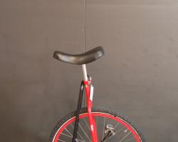 """Einrad 24"""" rot"""