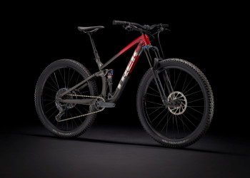 Trek Fuel Ex 8 Xt Ml 29 Wheel Rage Red To Dnister Black Fade