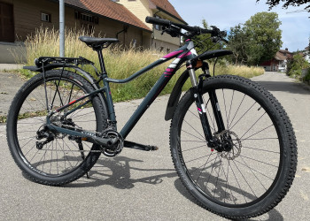 Mountainbike, Specialized, Expert jett, grey / pink, 43cm, 3 Monate Garantie (Occ.),
