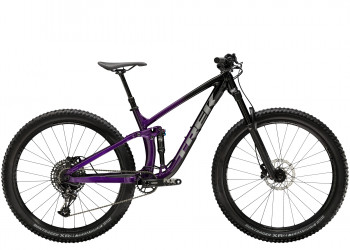 """Trek Fuel EX 7 S (29"""""""" wheel) Trek Black/Purple Lotus"""