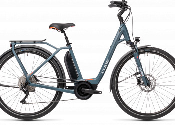 CUBE > Town Sport Hybrid Pro 500 blue´n´red