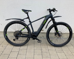 Cube Reaction Hybrid EXC 29 Zoll 500 Wh black and grey