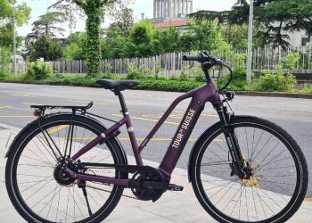 Tour de Suisse Broadway 45kmh, Courroie,Bosch 85Nm Gen4,Batterie 625Wh (Mauve (Core Purple))  (48)