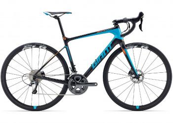 Giant Vélo Giant Defy Advanced Pro 1 (Carbon - Bleu)  (M)