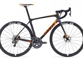 Giant Vélo Giant TCR Advanced Pro Disc (Carbon - Orange)  (M-L)