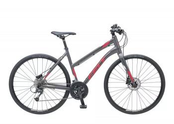 Felt Vélo Felt QX 85 Lady Disc (Matt Characoal - White - Red)  (49)