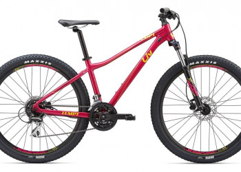 Giant Vélo Giant Liv Tempt 27.5 3 (Characoal - Rasperry Magenta- Yellow)  (S)
