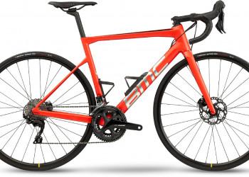BMC Vélo BMC teammachine SLR FOUR (Racing Red & Brushed Silver)  (58)