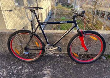 Fabien Bike VELO RACER 4050  (bleu-rouge)  (Unitaire)