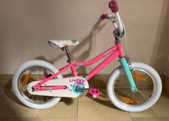 Fabien Bike VELO LIV ADORE 16 (Blanc-rose)  (Unitaire)