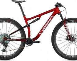 EPIC S-WORKS CARBON SRAM AXS 29, Specialized, 97620-0104, Mountain Bike, REDTNT/BRSH/WHT, L, Garantie 2 Jahre, Rahmennummer: WSBC004367727R