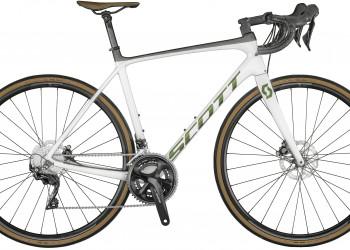 SCOTT Addict 20 Disc Bike Pearl White