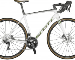 Bicicletta SCOTT Addict 20 Disc pearl white