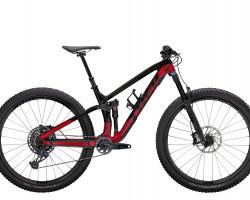"Trek Fuel EX 9.8 GX L (29"""" wheel) Raw Carbon/Rage Red"
