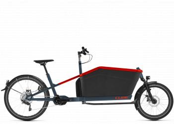 CUBE > Cube Cargo Hybrid Sport Dual blue´n´red