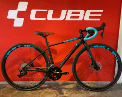 Cube Axial WS Race Disc black'n'darkmint