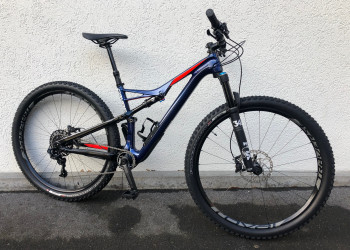 Specialized > CAMBER FSR EXPERT CARBON 29 NBLBLU/NRDCRED/METWHT M
